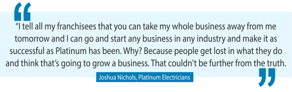How to create a highly profitable customer manifesto with Platinum Electricians Joshua Nichols