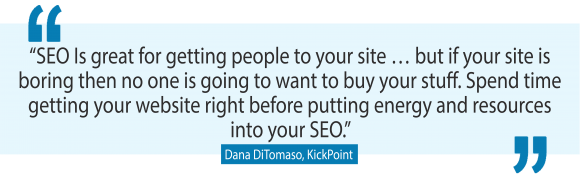 Even more of the best SEO tips for small business from Dana DiTomaso, one of the world's leading SEO experts