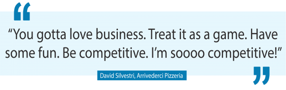 David Silvestri may well be Brisbane's most passionate business shop owner