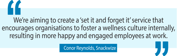 Snackwize founder Conor Reynolds on building a healthy business