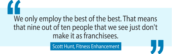 The secret to building Australia's largest personal training business with Fitness Enhancement's Scott Hunt