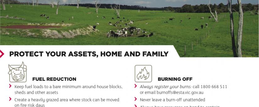 CFA farm fire safety checklist
