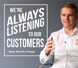 Rapid growth attributed to an unwavering respect for and understanding of the customer with Prospa's Beau Bertoli