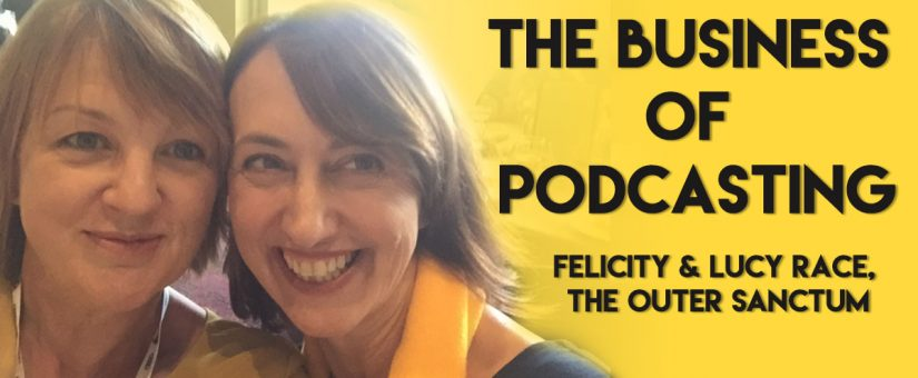 Turning a podcast into a business is the key focus for the hosts of The Outer Sanctum podcast