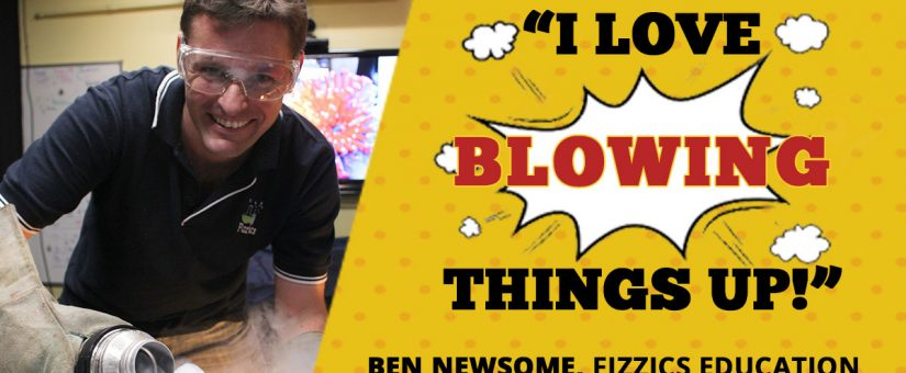 Mad Scientist Ben Newsome on how being entertaining is the best way to educate